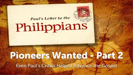 Pioneers Wanted - Part 2