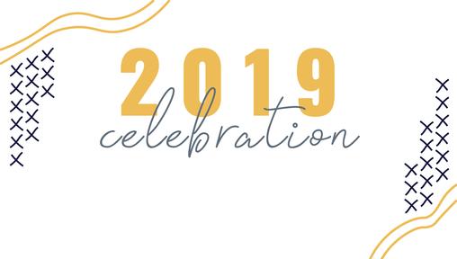 December 29, 2019 - Celebration Sunday