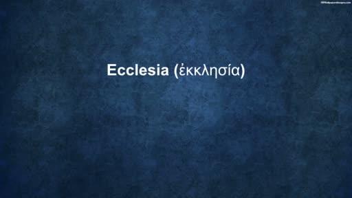 Ecclesia Week 1 - Family