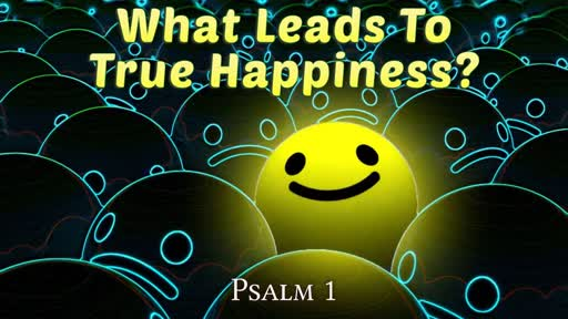 What Leads To True Happiness?