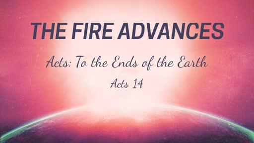 The Fire Advances