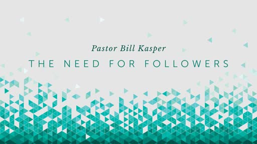 The Need for Followers