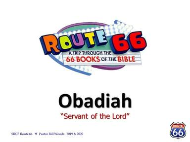 Route 66 - Obadiah and Jonah