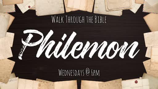 Walk Through the Bible - Philemon