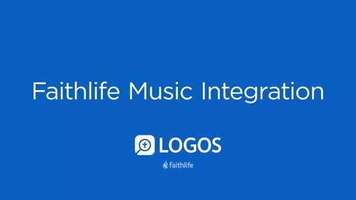 Faithlife Music Integration