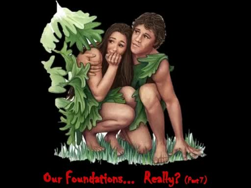 Our Foundations... Really? (Part 7)