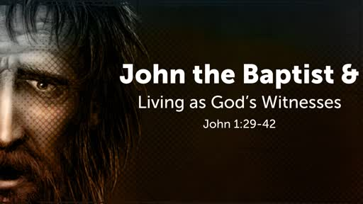 John the Baptist & Living as God's Witnesses