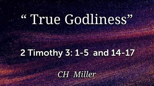 True Godliness