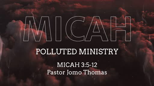 POLLUTED MINISTRY