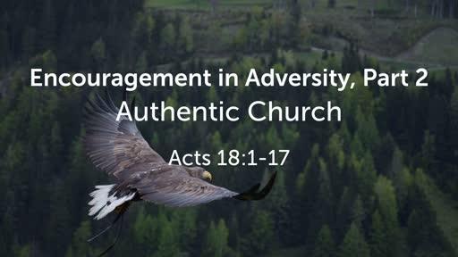 Encouragement in Adversity, Part 2