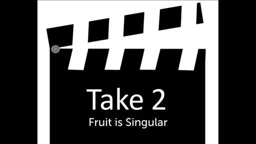 Fruit - A Challenge