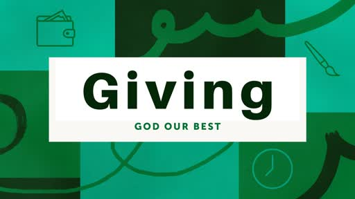 Giving God Our Best