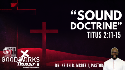 """Sound Doctrine"""
