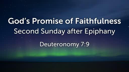 God's Promise of Faithfulness