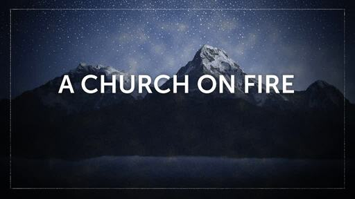 CHUCH ON FIRE