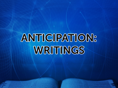 Anticipation: Writings