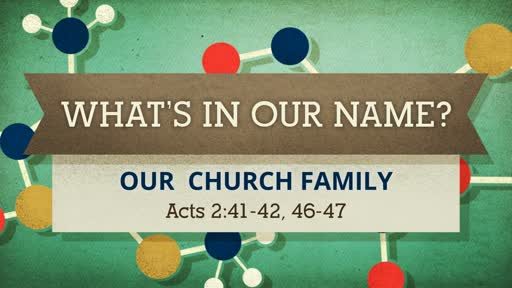 WHAT'S IN OUR NAME?
