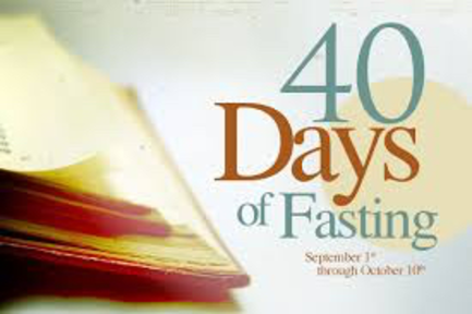 40 days Prayer & Fasting _Wednesday January 29th 2020_ Day 23