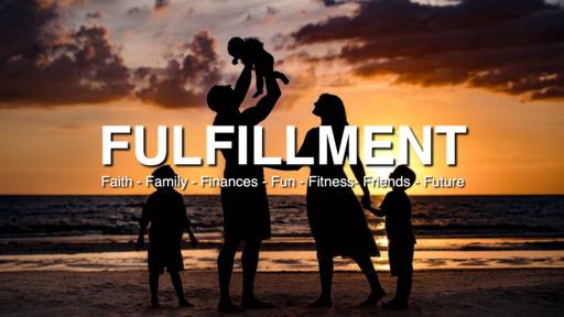 "2020-01-29 The 7 F's in Fulfillment: ""Family, Finances & Fun"" - Part 4 - James Miller, Jr"