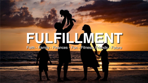 "2020-01-29 The 7 F's in Fulfillment: ""Family, Finances & Fun"" - Part 4 - James Miller, Jr"