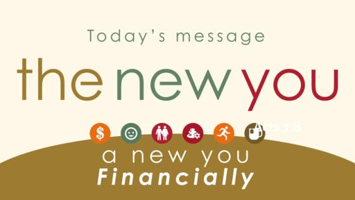 The New You: Financially -Sun. Jan. 26