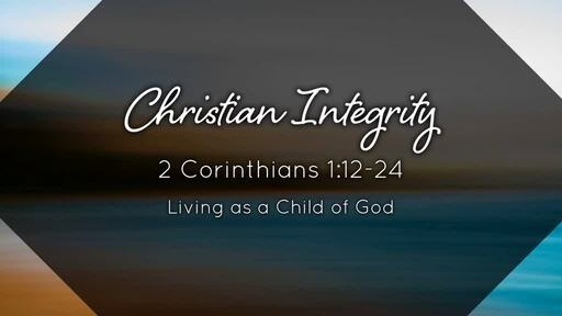 Living as a Child of God