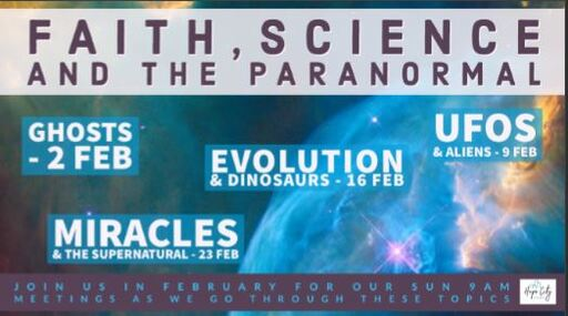 Faith, Science, and the Paranormal