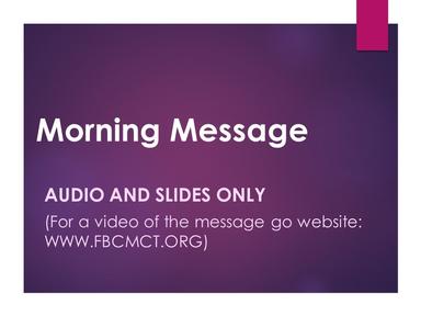 Feb. 2, 2020 - MORNING SERVICE