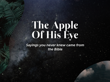‎The Apple Of His Eye
