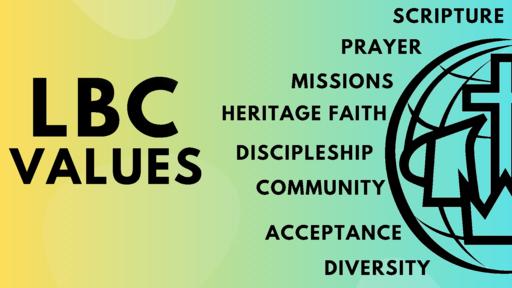 Core Value - Discipleship [ Week 5 ]