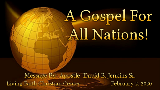 A Gospel For All Nations
