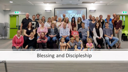 Blessing and Discipleship