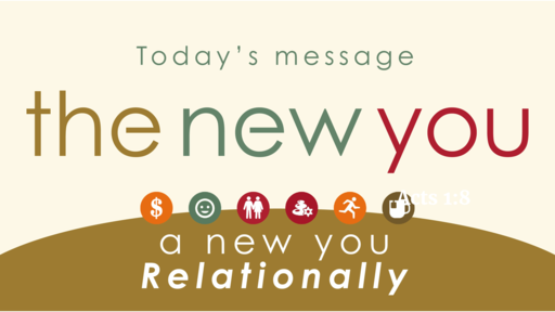The New You Relationally -Sun. Feb. 2, 2020