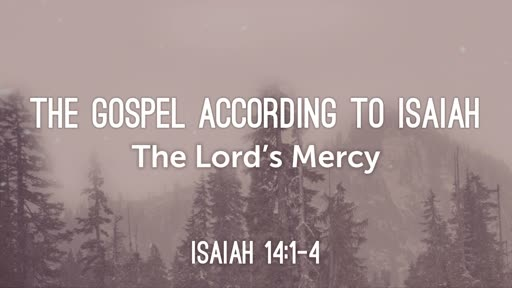 The Lord's Mercy