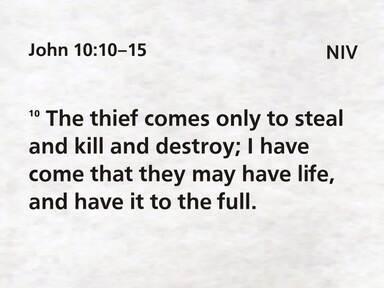 Jesus - The Good Shepard