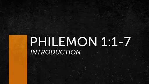Philemon: Introduction
