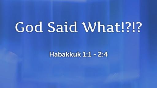 01 WHY   God Said What!?!? (01-05-20)