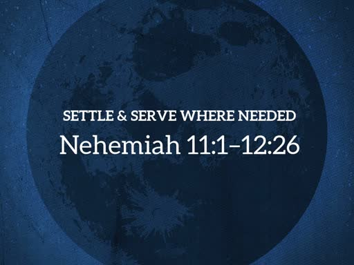 Settle & Serve Where Needed