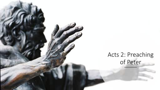 Peter's message - Acts 2