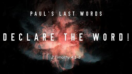 """""""DECLARE THE WORD!"""""""