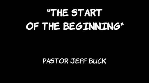 """The Start of the Beginning"""