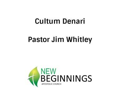 Cultum Denari- Wed 2-5