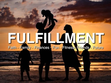 "2020-02-05 The 7 F's in Fulfillment: ""Family, Finances & Fun"" - Part 5 - James Miller, Jr"