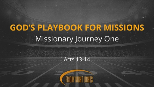 God's Playbook for Missions