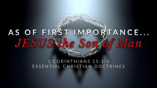5. JESUS CHRIST the Son of Man