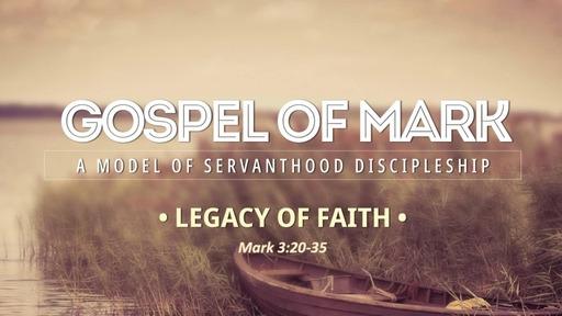09 Feb 2020 - Legacy of Faith