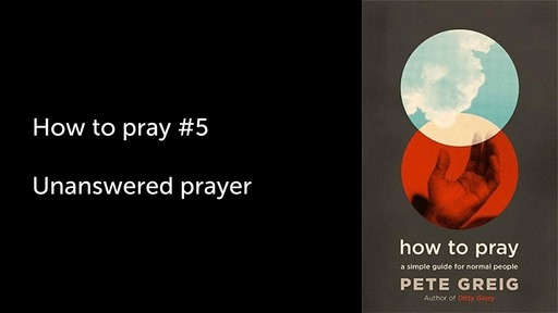 How to pray #5