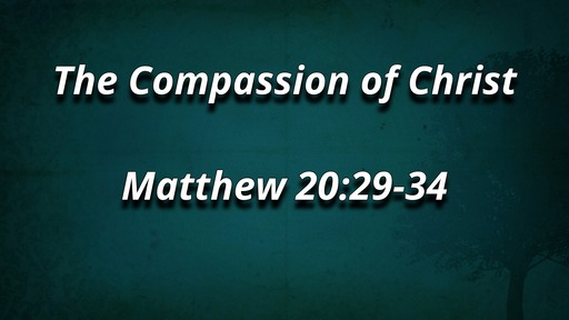 The Compassion of Christ