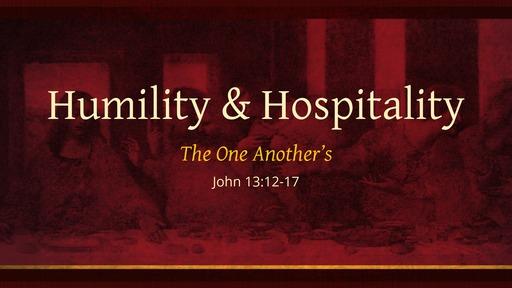 Humility & Hospitality