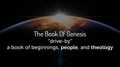 February 9, 2020 - Genesis a Book of Beginnings, People, and Theology Part 2